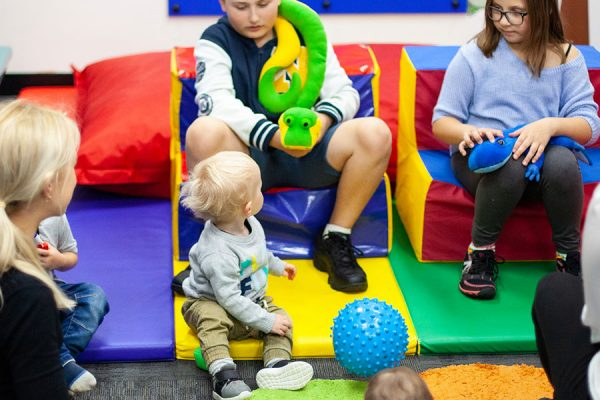 Group Therapy - children playing in a group
