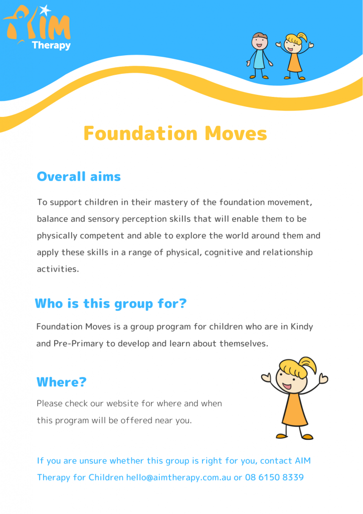 Foundation Moves Information Sheet updated