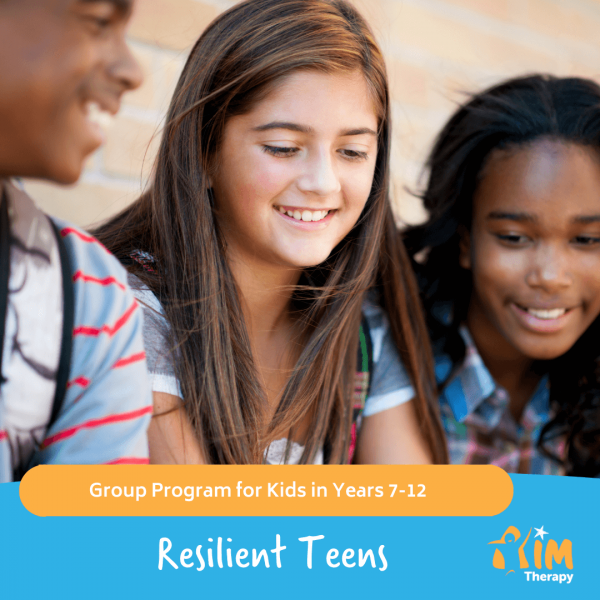 Resilient Teens Group Website Cover Image