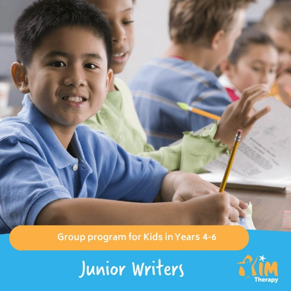 Junior Writers AIM Therapy for Children
