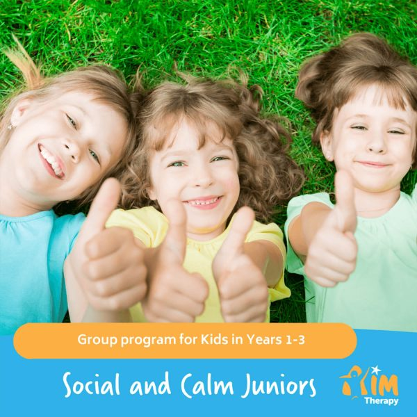 Social and calm Juniors AIM Therapy for Children