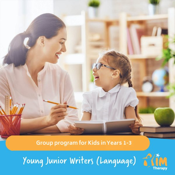 Young Junior Writers Language AIM Therapy for Children